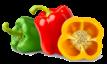 Poivrons (jaunes, rouges, verts)
